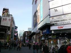 明洞购物街