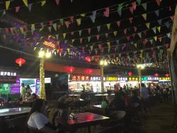 夏日美食广场
