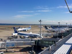 东京羽田机场2号航站楼观景台