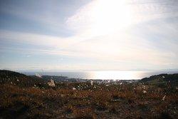 西山山麓火山口散步道