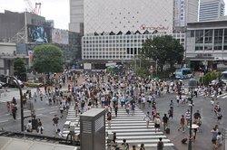 涩谷全向十字路口