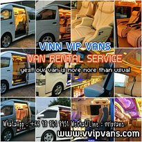 VINN VIP VANS : VAN RENTAL SERVICE  With personal driver, standard van, safety system and comfor (394255824)