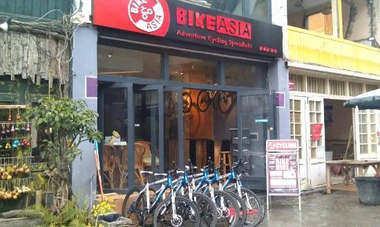 Bike Asia的阳朔一日游