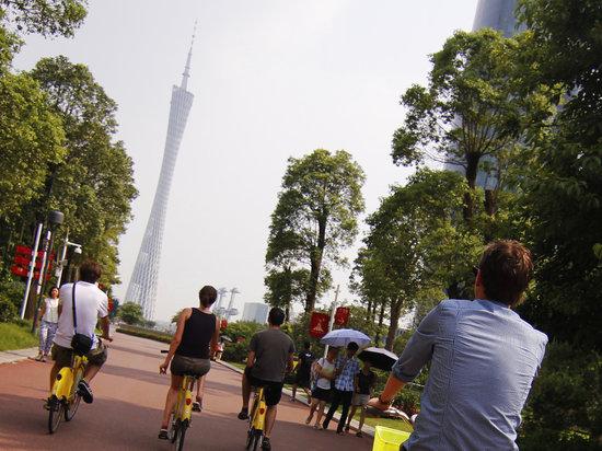 广州自行车一日游