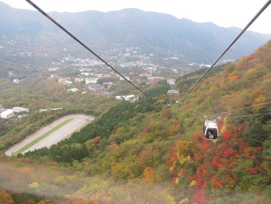 箱根驹岳山空中缆车