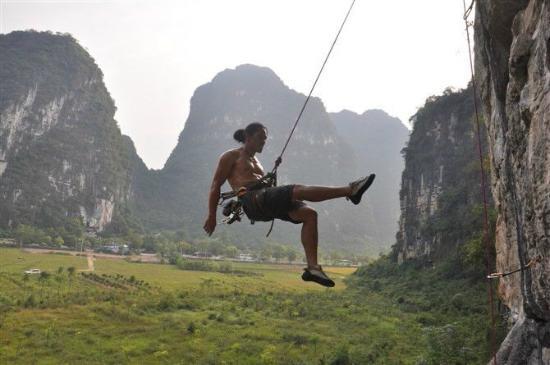 Wei Hua's Rock Climbing