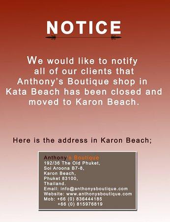 Anthony Boutique Kata Beach