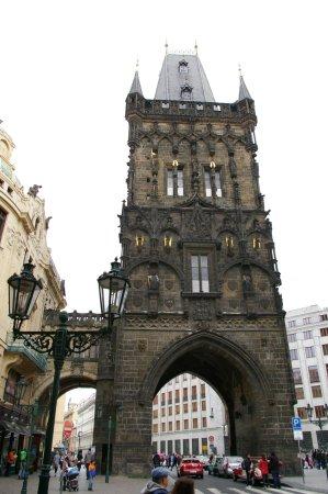 布拉格火药塔