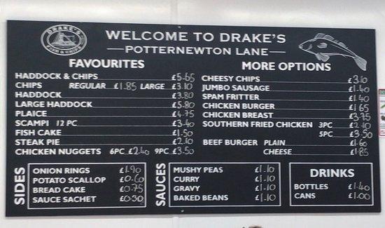 Drakes Fish & Chips